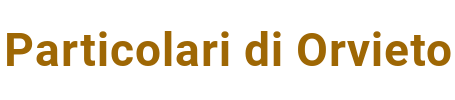 Particolari di Orvieto Logo