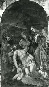 Pala della Misericordia, Foto di F. Zeri, 1950